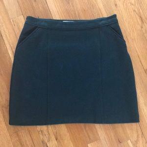 Boden Hunter Green Mini Skirt